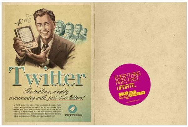 Maximidia Seminars_ Vintage Twitter | Ads of the World