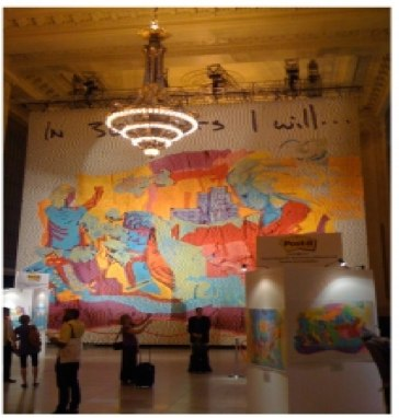 Post-It_ Ideas That Stick Grand Central Installation - Print (image) - Creativity Online