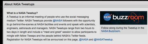 NASA - NASA Tweetup