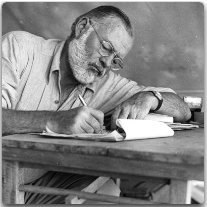 Hemingwaywriting.jpg (JPEG Image, 428x425 pixels)