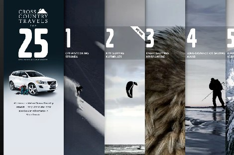 Volvo_ Cross Country Travels - Interactive (image) - Creativity Online