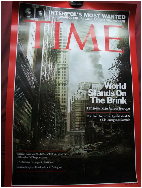 _Time_ Magazine Cover Turned Into Apocalyptic _Call of Duty_ Ad | Adweek